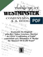 Confissão de Fé de Westminster Comentada por A. A. Hodge.pdf