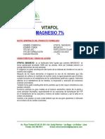 Vitafol Mg