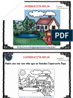 Caperucita Roja Cuento Formato Tarjetas Fondo Blanco PDF