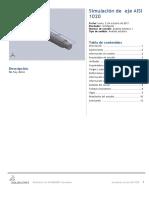 Eje AISI 1020-Análisis Estático 1-1