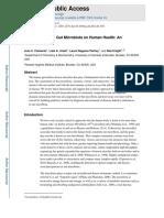 The Impact of the Gut Microbiota on Human Health
