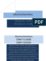 Lecture 1 Basic Electrochemistry Presentation 2017-1