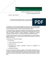 Analisis Legal_ Contrato de Franquicia