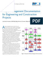PM Documentaion for Constr Projects