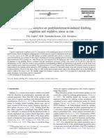 Effect of Centella Asiatica on Pentylenetetrazole-Induced Kindling,