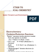 PAK 6-Redox and Potentiometric Titration