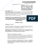 Proyecto de ley Nº 1982-2017
