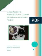Microscopio Petrográfico