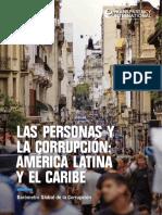 Uno de cada tres latinoamericanos paga sobornos