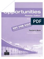 108148279 New Opportunities Pre Intermediate Teacher s Book Russian Ed
