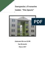 Plan de Emergencias y Evacuacion Condominio