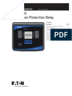 Eaton EGR 5000 Generation Protection Relay Tech Data