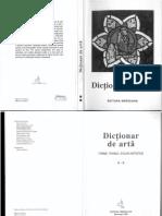 Dicționar de Artă N-Z