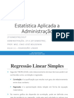 AULA 11 – REGRESSÃO LINEAR.pptx