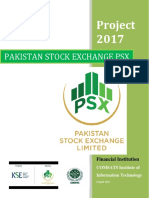 Project on Pakistan Stock Exchange PSX & KSX