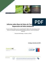 1-2 Informe Sobre Base de Datos de Tecnologías de Reparación