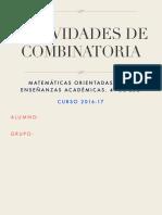 Actividades de Combinatoria Copia