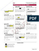 Cobb County schools proposed calendars 2018-19, 2019-20