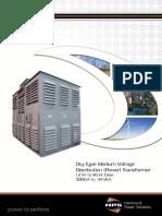 HPS Catalog Dry-Type Medium Voltage