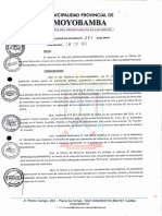 R.a. Nº 271-2012 MDA. Autorizacion Material de Acarreo