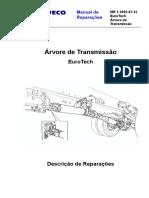 MR 05 2002-07-31 Árvore de Transmissão - EuroTech