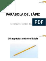 Parabola Del Lapiz