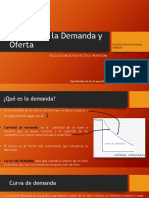 Análisis de La Demanda y Oferta