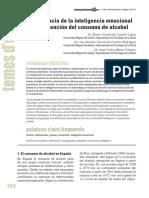 La Relevancia de La Inteligencia Emocional en La Prevención Del Consumo de Alcohol