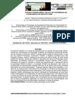 Psicologia, Juventude e Ensino Médio - Relato de Experiências de Licenciandos No Projeto Pibid