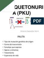 fenilquetonuria