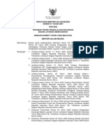 Permendagri 61 Tahun 2007