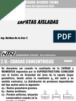 Estructuras y Sistemas Constructivos, Zapatas, 2 Ntn Ings. Civiles