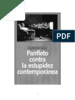 SALA Gabriel - Panfleto Contra La Estupidez Contemporánea