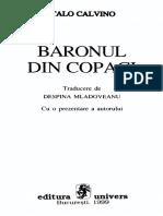 Italo Calvino Baronul din copaci