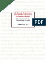 MONTANER - Diccionario de Generos Liricos