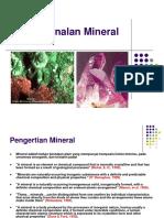 Kuliah 2 Mineral
