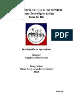 Tecnológico Nacional de México Reporte i.o El Bueno