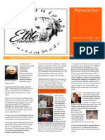 Elite Canines of Southern MN Newsletter