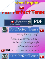 Past Perfect Tense in Urdu by EA Spoken English With Emran Ali Rai on YouTube