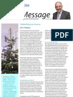 One Message December 2009