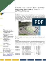 Malaysia - East Coast Expressway Phase II - Deep Vibro Technique