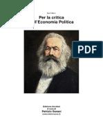 Marx, Karl - Per La Critica Dell'economia Politica.pdf