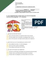 Imprimir Primer Semestre Lenguaje Segundo Basico Len