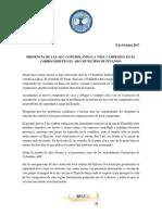 Presencia de Las Agc Controlando La Vida Campesina en El Corregimiento El Aro Municipio de Ituango.