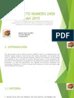 decreto 2450