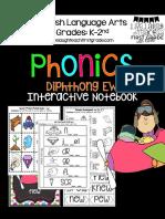 Phonics Interactive Notebook
