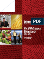 Perfil Alimentario y Nutricional 2013 2014