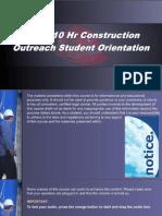 OSHA 10 Slides 00 - Preliminary Info