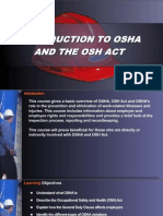 OSHA 10 Slides 01 - Intro to OSHA
