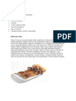 Ingredientes Platos